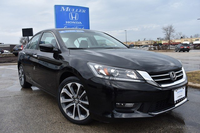Certified Pre-Owned 2015 Honda Accord Sedan Sport
