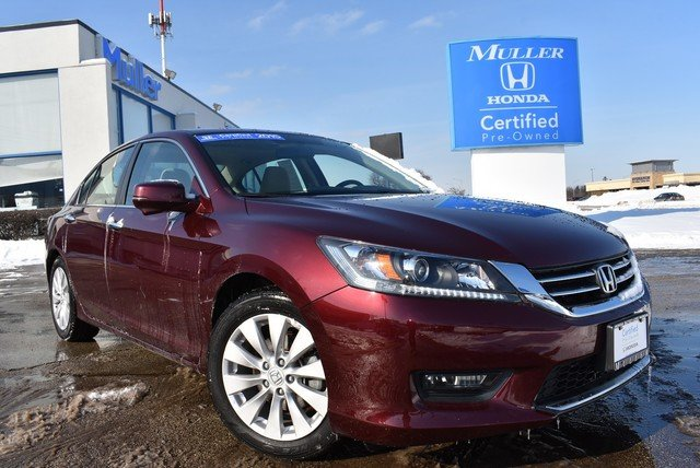 Certified Pre-Owned 2015 Honda Accord Sedan EX