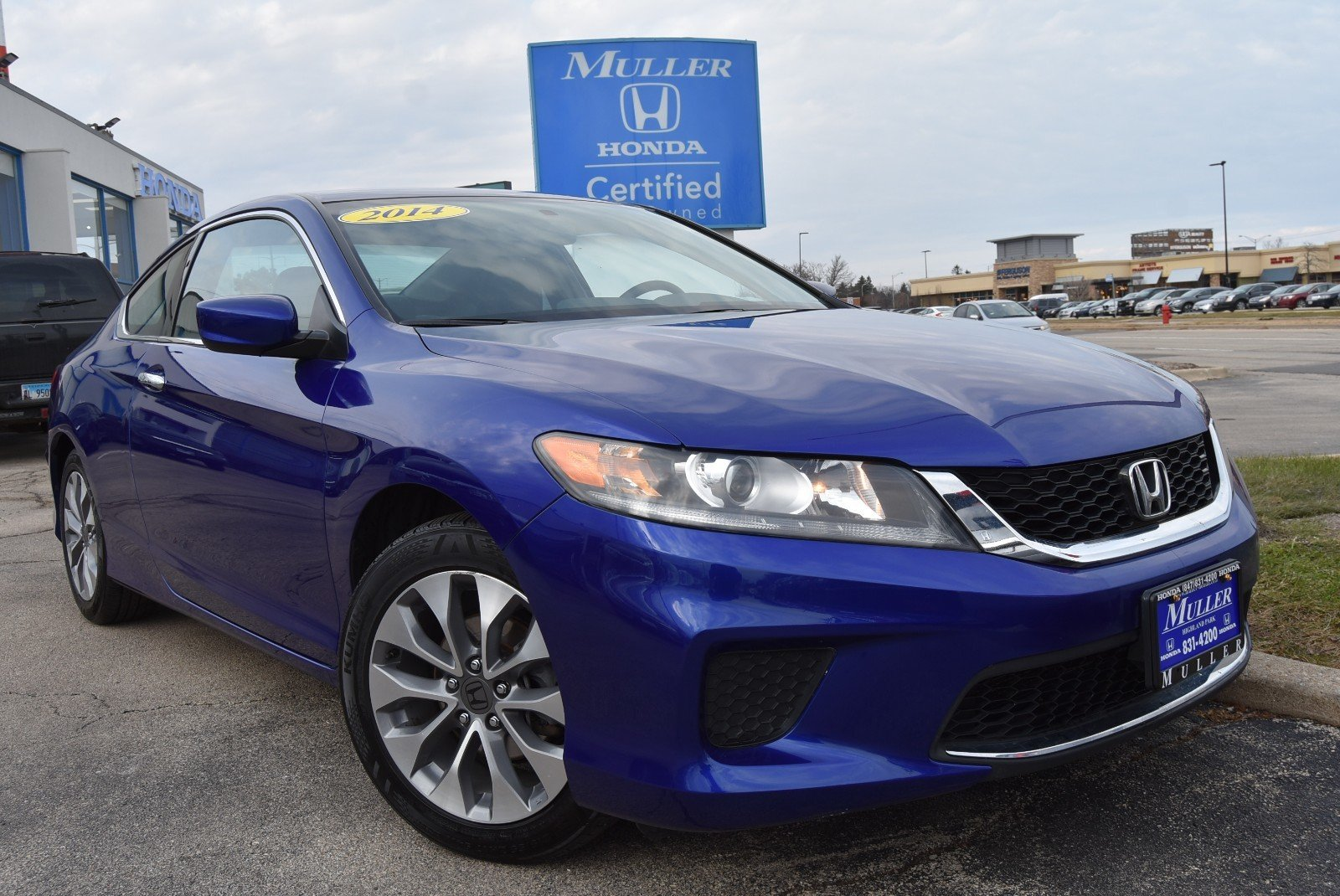 Pre-Owned 2014 Honda Accord Coupe LX-S