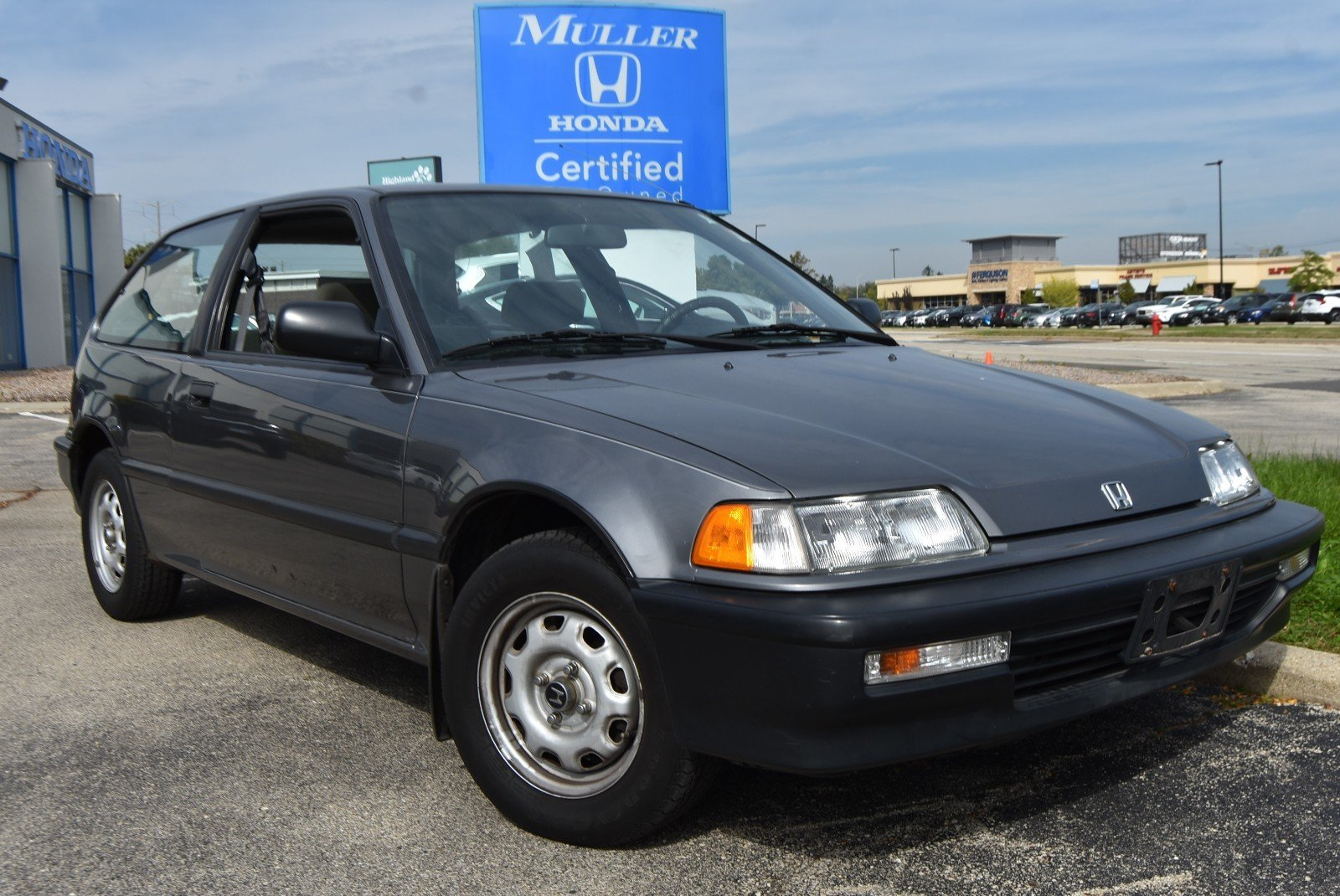 Pre-Owned 1990 Honda Civic DX