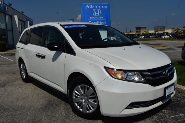 Certified Pre-Owned 2015 Honda Odyssey LX