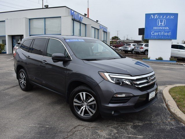 Certified Pre Owned 2016 Honda Pilot Ex L Sport Utility In Highland