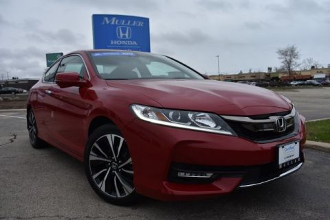 Certified Pre-Owned 2017 Honda Accord Coupe EX-L V6