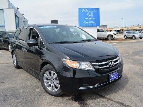 Certified Pre-Owned 2015 Honda Odyssey EX-L With Navigation