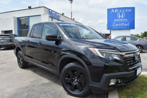 Certified Pre-Owned 2017 Honda Ridgeline Black Edition