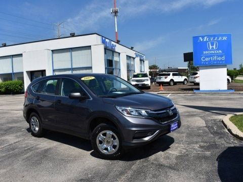 Pre-Owned 2015 Honda CR-V LX AWD
