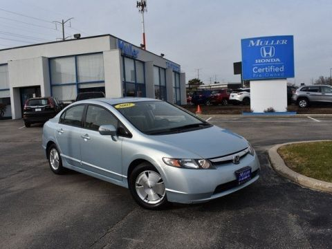 Pre-Owned 2007 Honda Civic Hybrid Base w/Nav