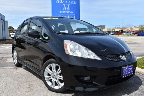 Pre-Owned 2009 Honda Fit Sport w/Navi